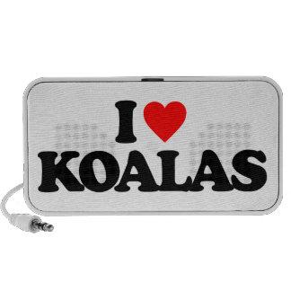 I LOVE KOALAS SPEAKER