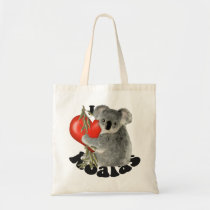 I Love Koalas Tote Bag