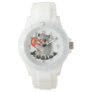 I Love Koalas Wristwatch
