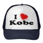 I Love Kobe Mesh Hat