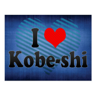 I Love Kobe-shi, Japan. Aisuru Kobe-Shi, Japan Postcard