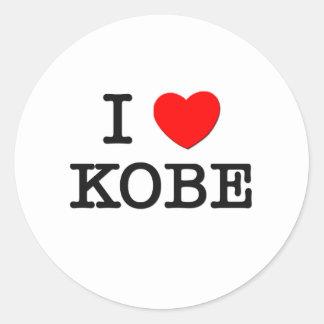 I Love Kobe Sticker