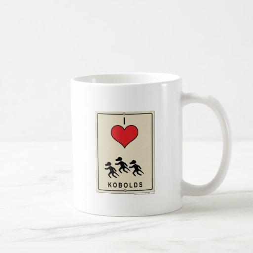 I Love Kobolds Coffee Mug