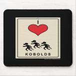 I Love Kobolds Mouse Mat