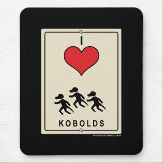 I Love Kobolds Mouse Pad