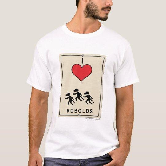 I Love Kobolds T-Shirt