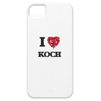I Love Koch iPhone 5 Cases