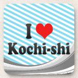 I Love Kochi-shi, Japan Beverage Coaster