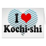 I Love Kochi-shi, Japan Card