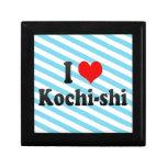 I Love Kochi-shi, Japan Keepsake Boxes