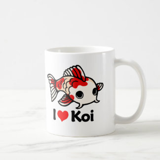 I Love Koi Coffee Mug