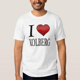 I Love Kolberg Tee Shirts