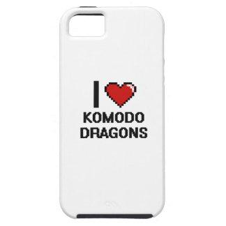 I love Komodo Dragons Digital Design iPhone 5 Covers
