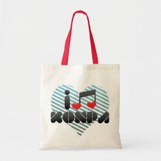 I Love Konpa Bags