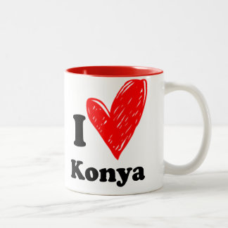 I love Konya Two-Tone Coffee Mug