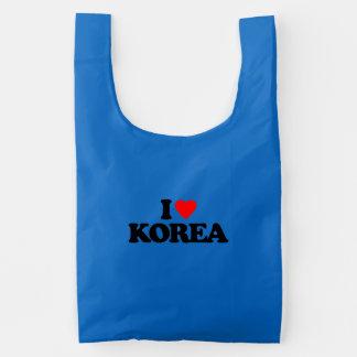 I LOVE KOREA REUSABLE BAG