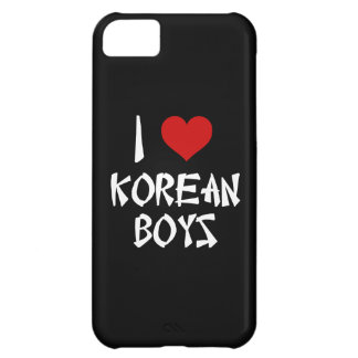 I Love Korean Boys Cover For iPhone 5C