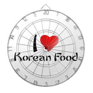 I LOVE KOREAN FOOD DART BOARD
