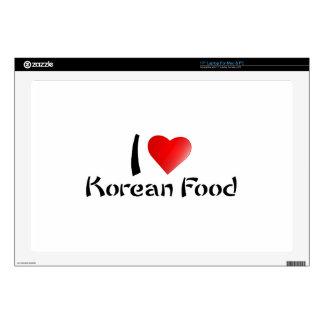 I LOVE KOREAN FOOD LAPTOP DECALS