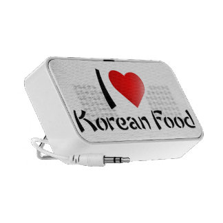I LOVE KOREAN FOOD MINI SPEAKERS