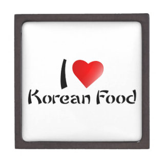 I LOVE KOREAN FOOD PREMIUM JEWELRY BOXES