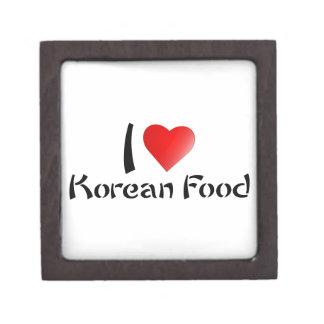I LOVE KOREAN FOOD PREMIUM TRINKET BOX