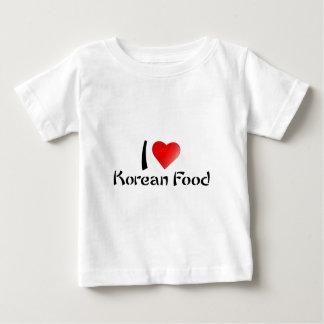 I LOVE KOREAN FOOD TEE SHIRTS