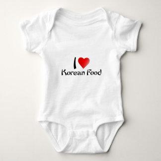I LOVE KOREAN FOOD TEES