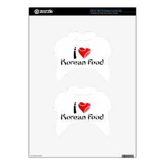 I LOVE KOREAN FOOD XBOX 360 CONTROLLER SKIN