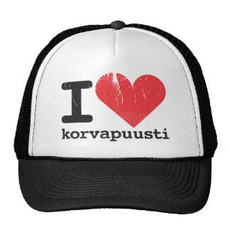 I Love Korvapuusti Trucker Hat