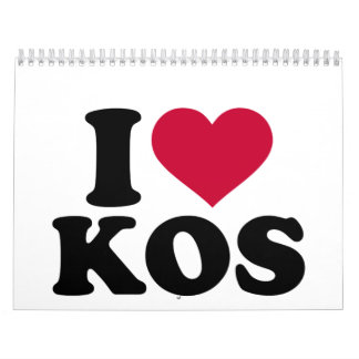 I love Kos Calendar
