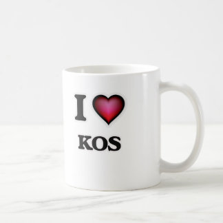 I Love Kos Coffee Mug
