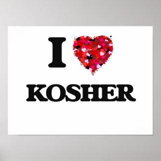 I Love Kosher Poster