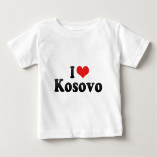 I Love Kosovo Baby T-Shirt
