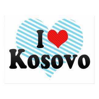 I Love Kosovo Postcard