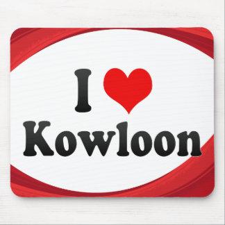 I Love Kowloon, Hong Kong Mouse Pads