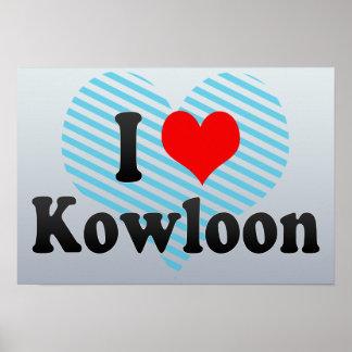 I Love Kowloon, Hong Kong Poster