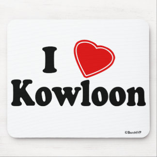 I Love Kowloon Mousepads