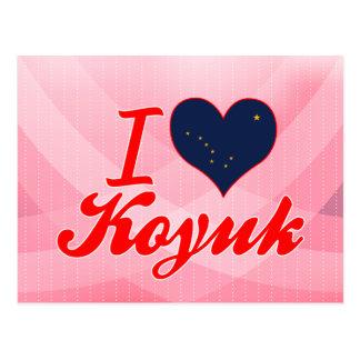 I Love Koyuk, Alaska Post Cards