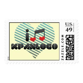 I Love Kpanlogo Postage Stamp