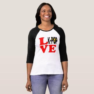 ♪♥I Love KPop Bella Raglan Classic Baseball Tee♥♫ T-Shirt