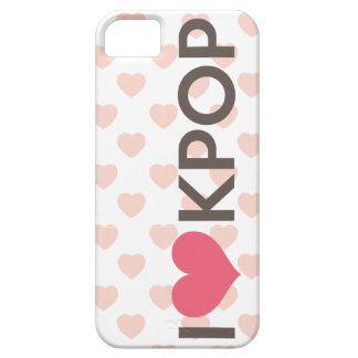 I Love Kpop iPhone 5 Covers