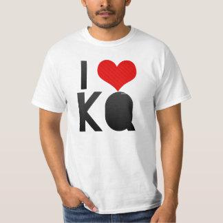 I Love KQ T-shirt