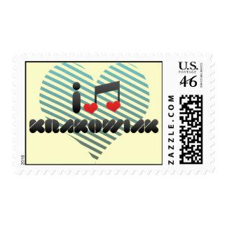 I Love Krakowiak Stamp