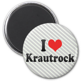 I Love Krautrock Magnets
