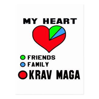 I love Krav Maga. Postcard