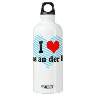 I Love Krems an der Donau, Austria Aluminum Water Bottle