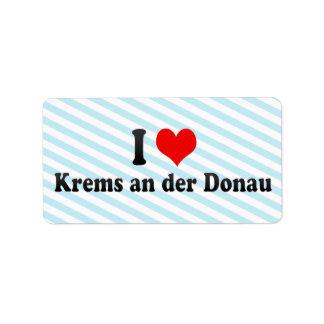 I Love Krems an der Donau, Austria Label