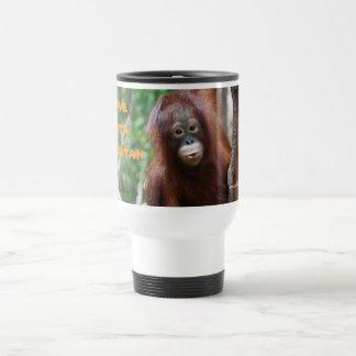 I Love Krista Orangutan Mugs