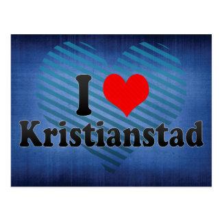 I Love Kristianstad, Sweden Postcard